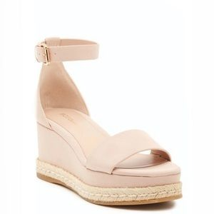 BCBGENERATION Blush Addie Wedge Sandals - Size 8
